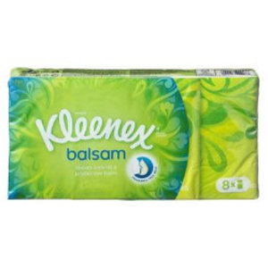 Kleenex Kleenex Zakdoek Balsam - 8 Stuks