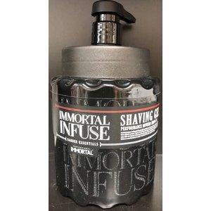 Immortal Immortal scheergel met pompje 1000 ml