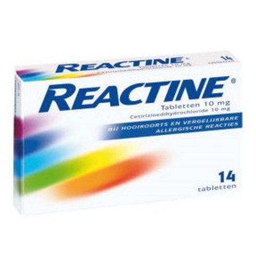 Reactine Reactine Anti-Histaminicum 10 Mg - 14 Tabletten