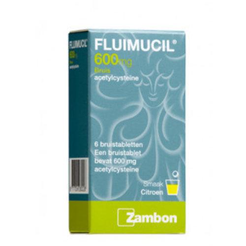 Fluimucil Fluimucil Bruis 600mg - 6 Tabletten