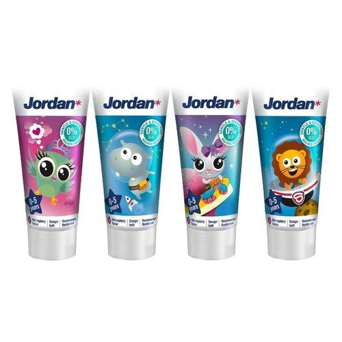 Jordan Jordan Tandpasta Kids 0-5 Jaar - 50 Ml
