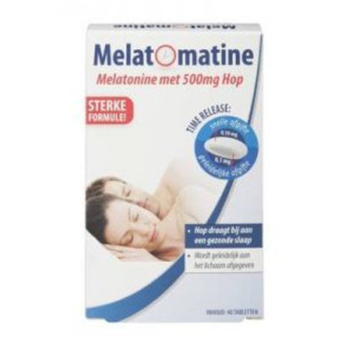 Melatomatine Melatomatine Time Release Hop - 40 Stuks