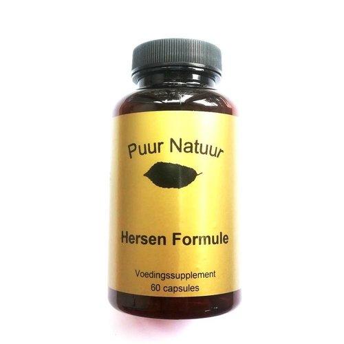 Puur Natuur Puur Natuur Hersen Formule - 60 Tabletten