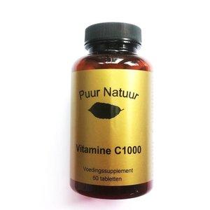 Puur Natuur Puur Natuur Vitamine C 1000 Mg - 60 Tabletten