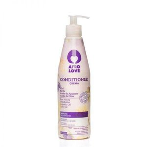 Afro love Afro love conditioner raw honey/ shea butter/ advocado oil/ olive oil 450 ml