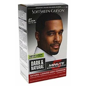 Dark & Lovely Dark & naturel haarverf man 5 min jet black
