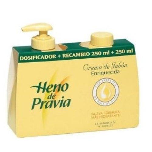Heno de pravia Heno de pravia 2x 250 ml vloeibaar zeep