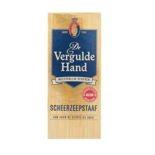 Vergulde hand Vergulde hand scheerzeepstaaf 75g