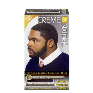Creme of Nature Creme of nature haarverf man haar en baard zwart