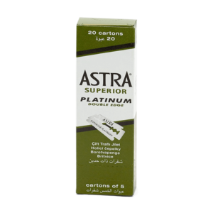 Astra Astra superior platinum double edge mesjes 20x5