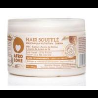 Afro love hair souffle raw honey/shea butter/castor oil/tea tree oil 450 ml