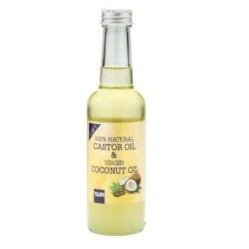 Yari Yari 100% Natural  Castor Oil & Virgin Coconut Oil 250 ml