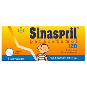 Sinaspril Sinaspril Paracetamol 120 Mg 10 Tabletten