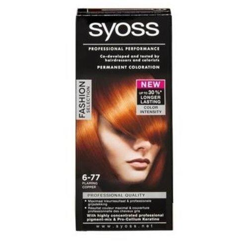 Syoss Syoss haarverf 6-77 koper