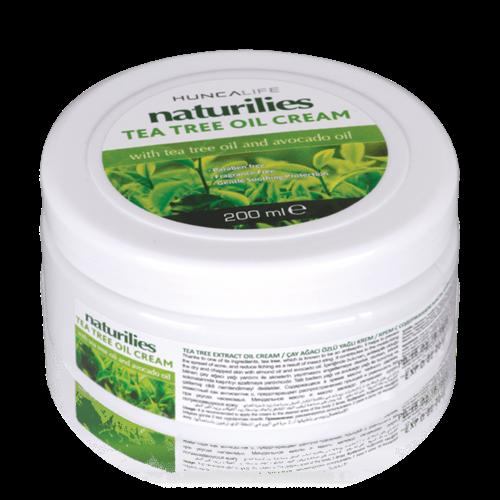 Huncalife Naturilies tea tree oil cream 200 ml