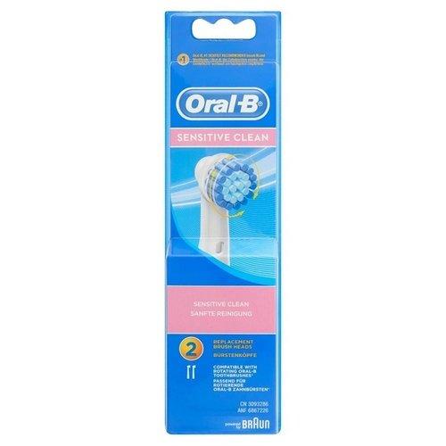 Oral B Oral B opzetborstels sensitive clean 2 stuks
