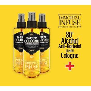 Immortal Immortal infuse lemon cologne 80% alcohol 150 ml spray