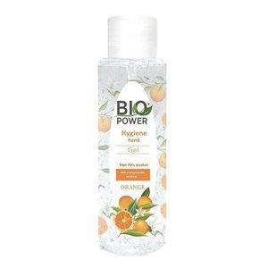 Biopower Biopower handgel 100 ml met 70% alcohol sinasappelgeur