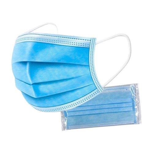 Lifetime Mondmasker 3 laags  blauw 50 stuks
