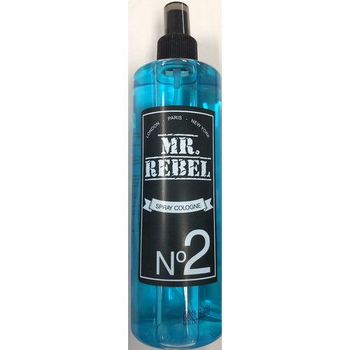 Mr. Rebel Mr. Rebel spray cologne no 2 blue