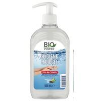 Biopower handgel met pompje 500 ml 70% alcohol