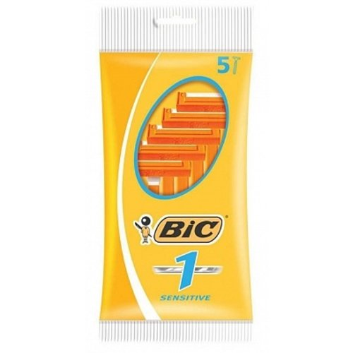 Bic Bic 1 Wegwerpmesjes Classic sensitive -  5 Stuks