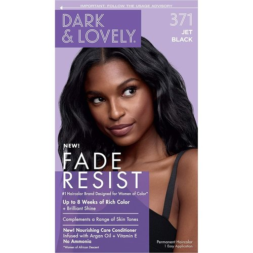 Dark & Lovely Dark & Lovely Permanent Haircolor Jet Black 371