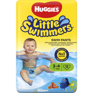 Huggies Huggies Little Swimmers 2/3 3-7 Kg - 12 Stuks