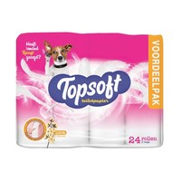 Topsoft wc papier 2 laags 24 rol