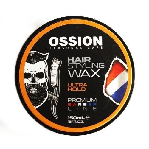 Ossion Ossion Hair Styling Wax - Premium Barber Line Ultra Hold 150 ml