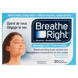 Breathe Breathe Right - Neusstrips 30 Stuks