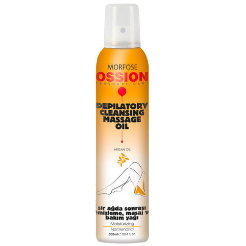 Ossion Ossion Massage Oil Spray - Depilatory Cleansing 300 ml