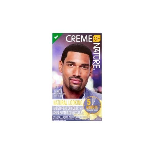 Creme of Nature Creme Of Nature Men Hair Color- Jet Black 5 Min
