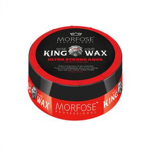 Morfose Morfose King Wax - Ultra Strong Aqua Rood 175 ml
