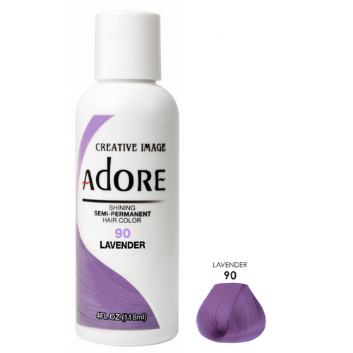 Adore Adore Semi-Permanent Hair Color - Lavender 90 118 ml
