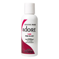 Adore Semi-Permanent Hair Color - Pink Blush 142 118ml