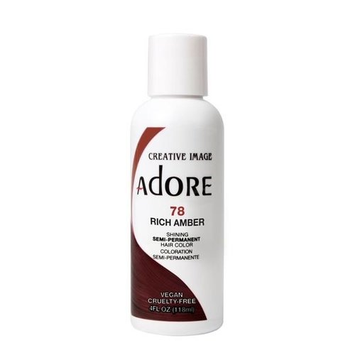 Adore Adore Semi-Permanent Hair Color - Rich Amber 78 118 ml