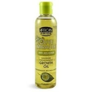 African Pride African Pride Olive  - Miracle Growth Oil 237 Ml