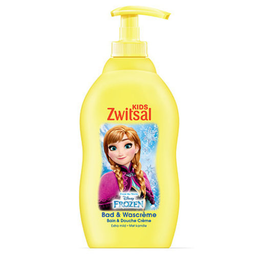 Zwitsal Zwitsal Kids Bad & Wascreme - Frozen 400 ml