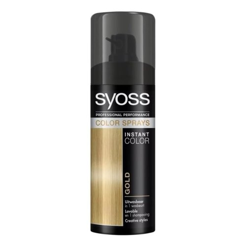 Syoss Syoss Colorspray - Gold 120ml