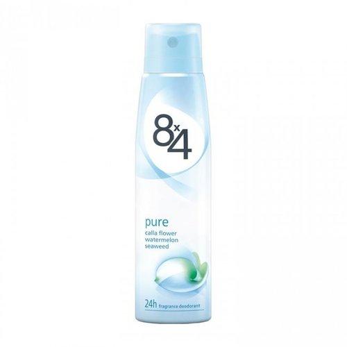 8X4 Deodorant - Pure Woman 150ml