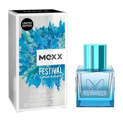 MEXX Mexx Eau De Toilette Spray - Festival Splashes Man 50 ml