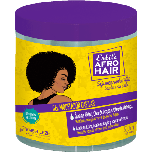 Novex Embelleze Afro Hair -  Styling Gel 500ml