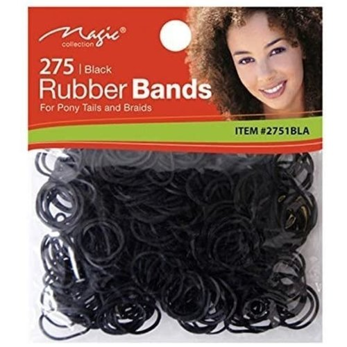 Magic Rubber Bands - Zwart 275 Stuks