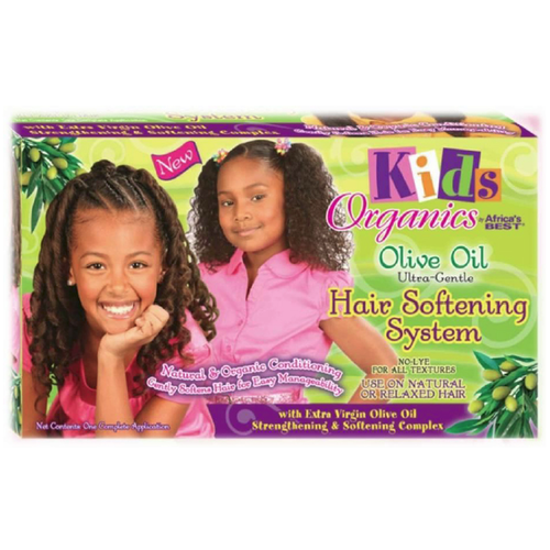 Africa's Best Kids Organics Olive Oil -  Ultra-Gentle Hair Softening System