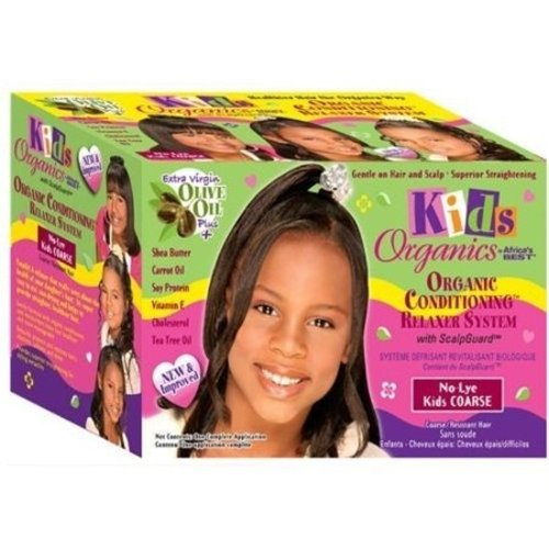 Africa'S Best Kids Organics -  No-Lye Relaxer System Kit Super