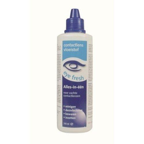 Eyefresh Alles In Een Vloeistof - Zachte Lenzen 240 ml