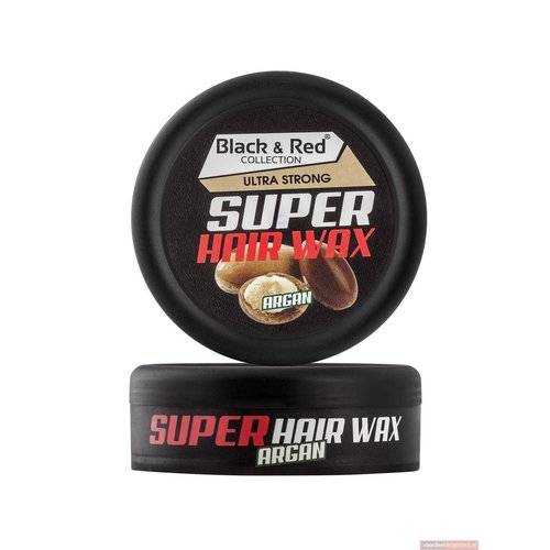 Black & Red Black & Red Super Hair Wax - Ultra Strong Argan 150 ml