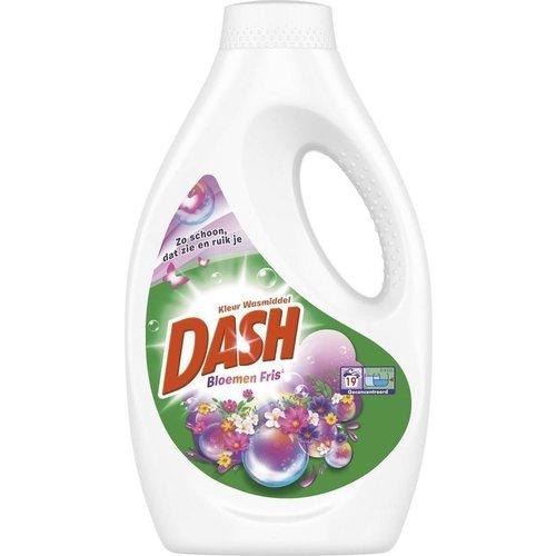 Dash Dash Vloeibaar Wasmiddel Kleur - Bloemen Fris 1045 ml
