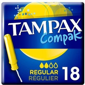 Tampax Tampons - Compak Regular 18 Stuks